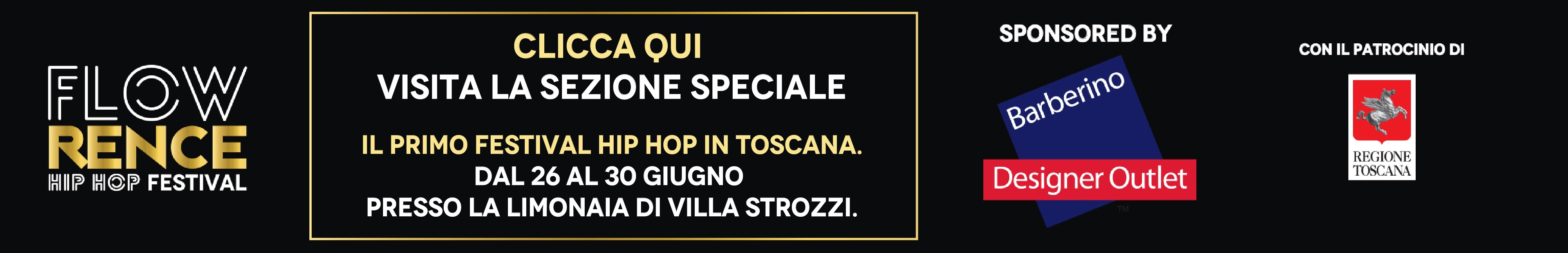 Flowrence Banner Sezione Speciale
